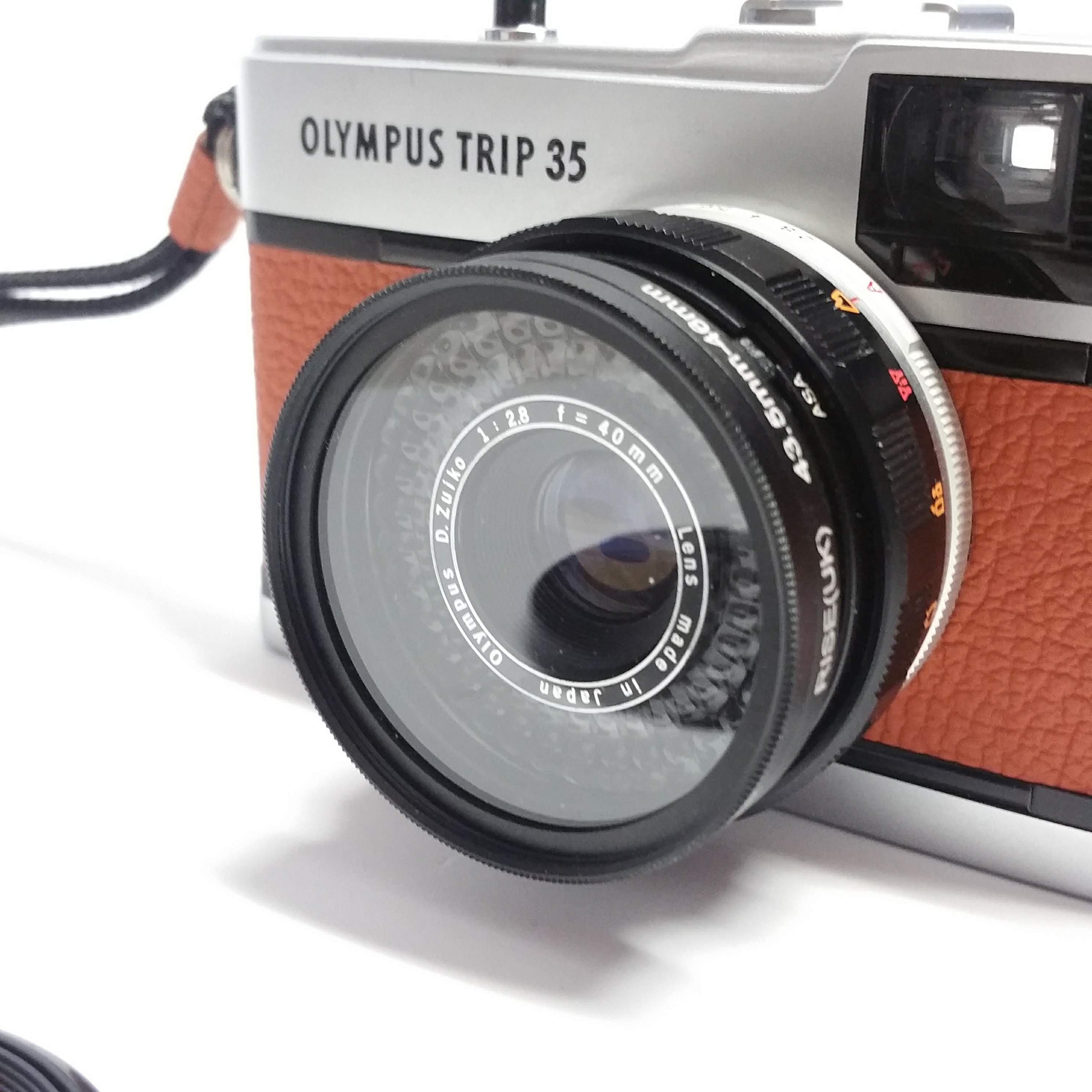 Olympus Trip 35 Step Up 43.5mm to 49mm Filter Ring /& Lens Cap NEW
