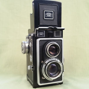Zeiss Ikon IKOFLEX IC,  format camera,  Medium Format, TLR  camera