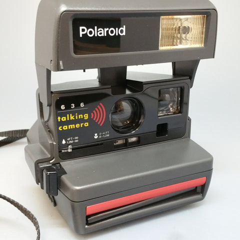 Polaroid 636 Talking Camera Vintage refurbished