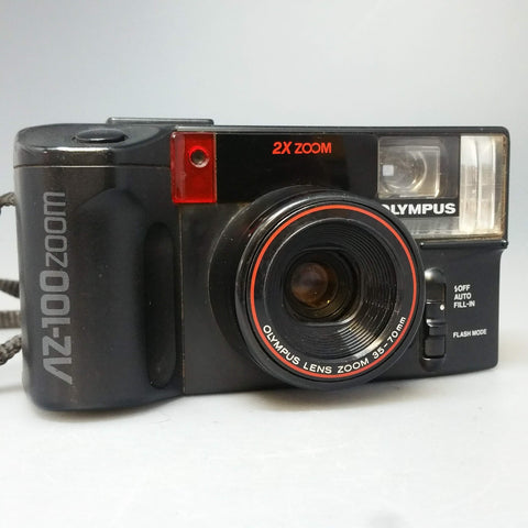 Olympus AZ-100 ZOOM   35mm compact point and shoot