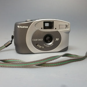 FUJIFILM Clear shot 30 35mm compact point and shoot