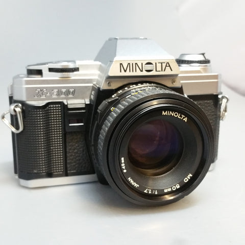Minolta X300 with Minolta 50mm MD 1.7 sn8372568