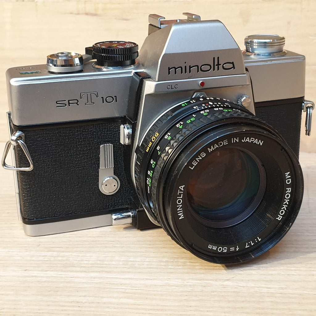 Minolta SRT 101 with 50mm 1.7 MD Rokkor - Greenwich Cameras and Film
