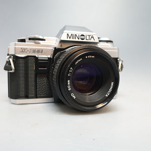 Minolta X300<br>with 50mm 1.7 MD lens - Greenwich Cameras and Film