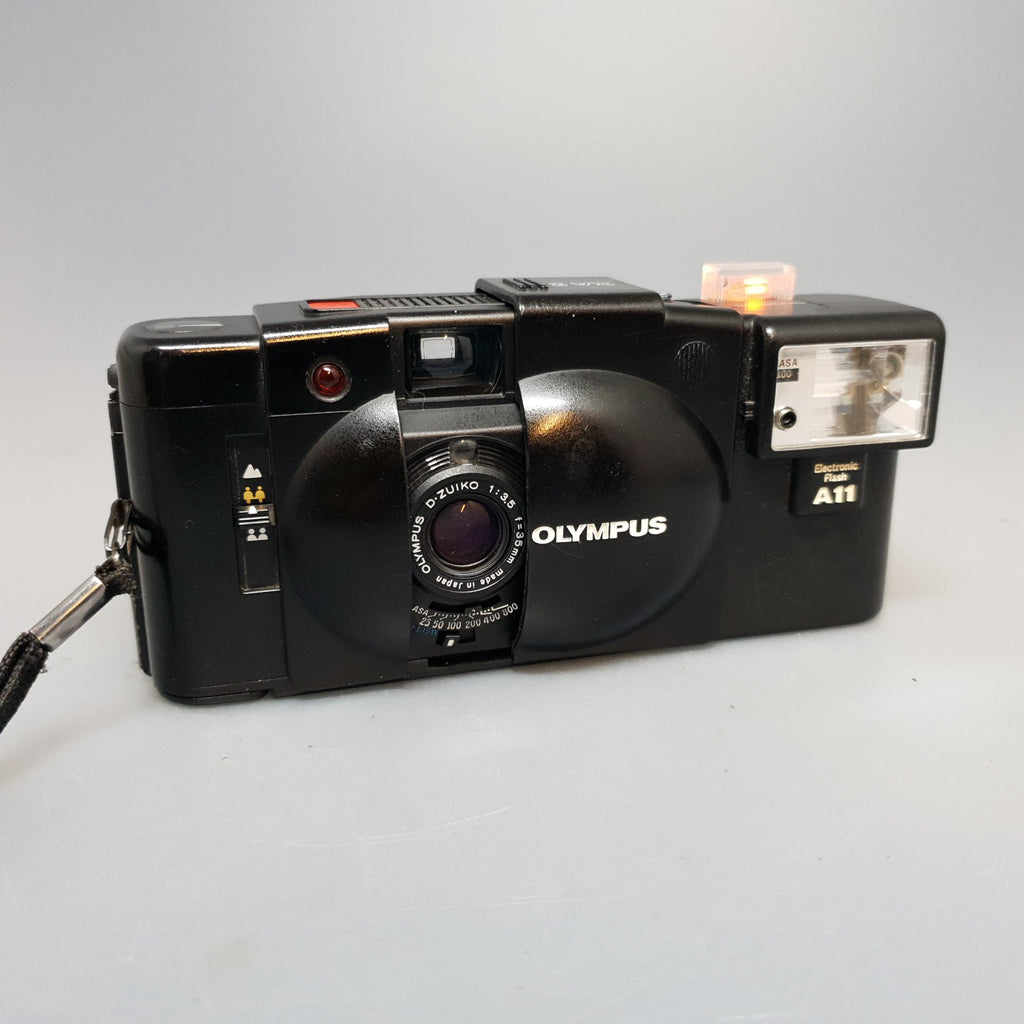 Olympus XA2 and Flash A11 - Greenwich Cameras and Film