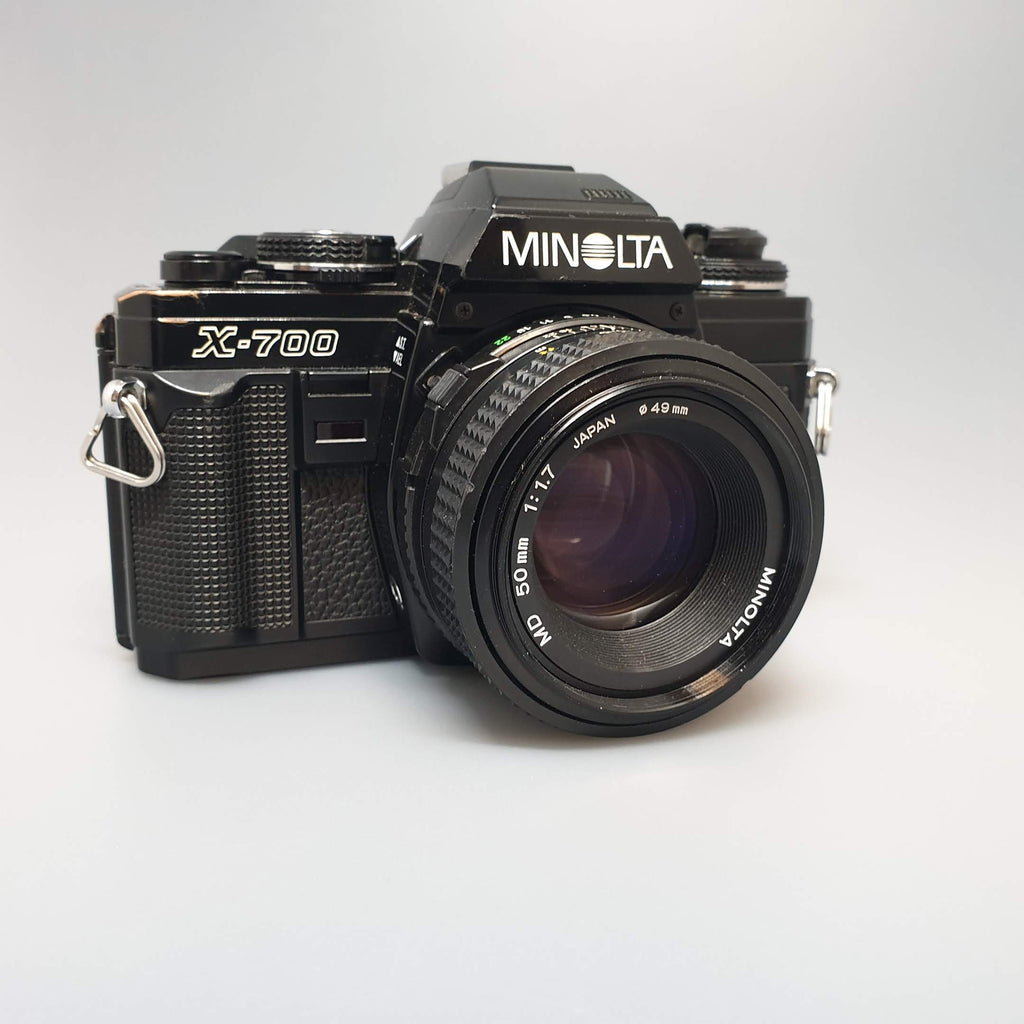 Minolta X700 with 50mm 1.7 MD lens - Greenwich Cameras and Film