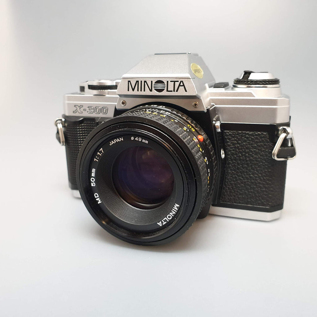 Minolta X300 with 50mm 1.7 MD - Greenwich Cameras and Film