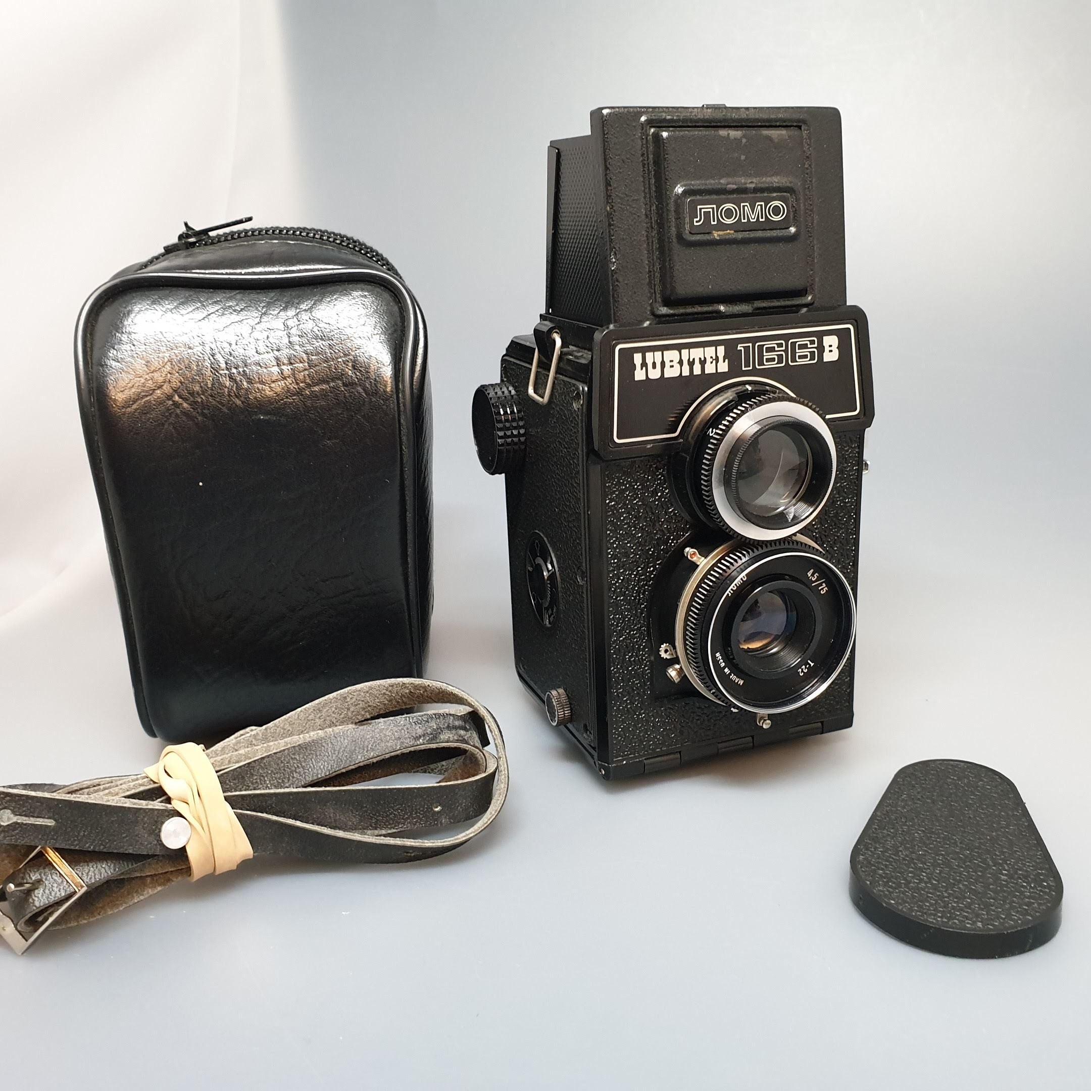 LOMO LUBITEL 166B, Twin Lens Reflex, 1980-89 - Greenwich Cameras and Film