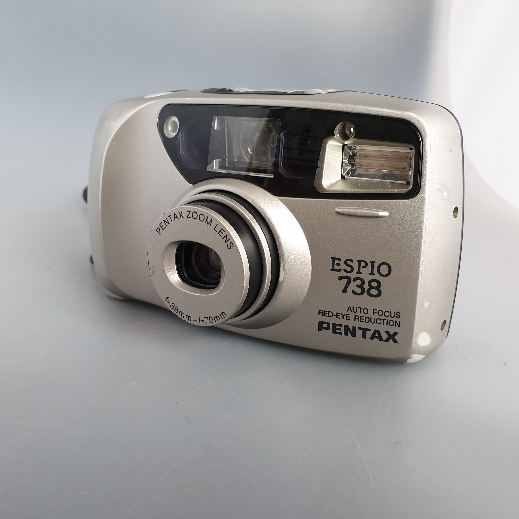 Pentax ESPIO 738  Silver 35mm Compact  Point and shoot