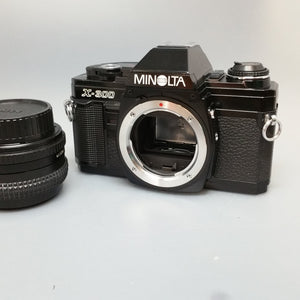 Minolta X300 Black sn8909028 - Greenwich Cameras and Film