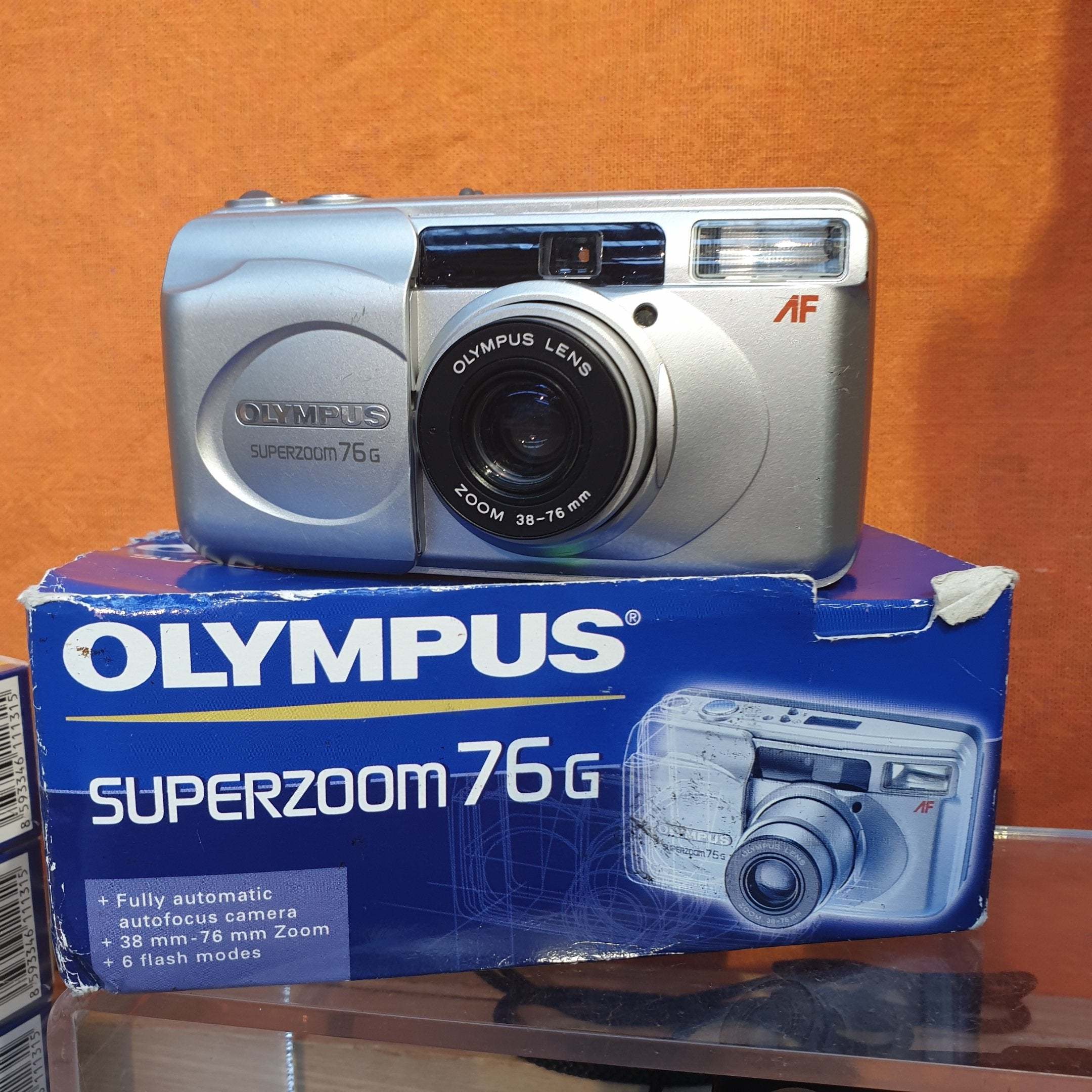 Olympus superzoon 76 G (4613121) - Greenwich Cameras and Film