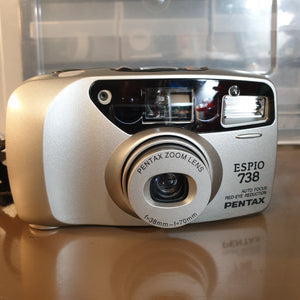 Pentax ESPIO 738 sn7089770 - Greenwich Cameras and Film