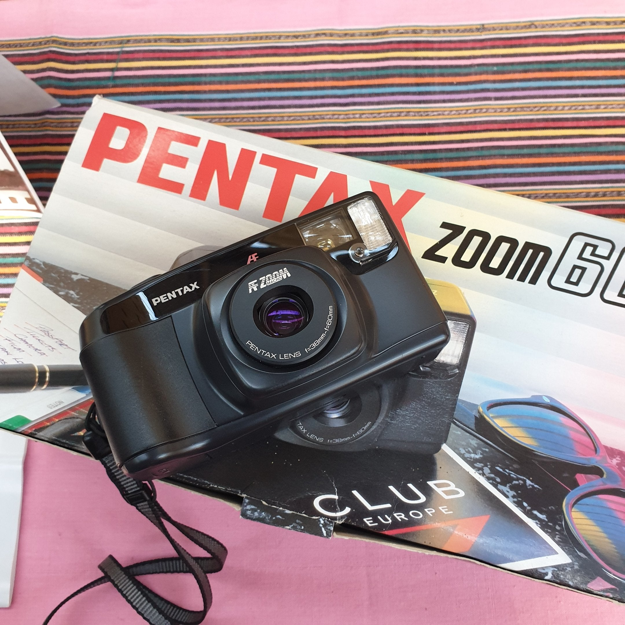 Pentax ZOOM 60 boxed  sn7190616 - Greenwich Cameras and Film