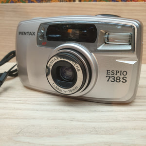 Pentax Espio 738S 2187119 - Greenwich Cameras and Film