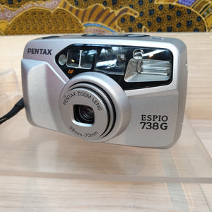 Pentax ESPIO 738G 8614743 - Greenwich Cameras and Film