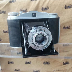 Agfa Isolette 2 with Apotar 85mm f4.5 and compur-rapid - Greenwich Cameras and Film