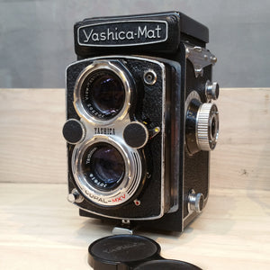 Yashica MAT   , 120 Roll Film, Medium Format, TLR  camera