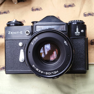 Zenit-E with Helios 44-M-4 2/58, 35mm camera, SLR camera, Student,