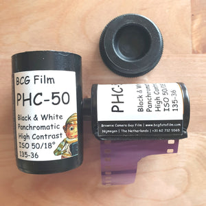 BCG PHC-50 Black & White Panchromatic High Contrast 135-36 - Greenwich Cameras and Film