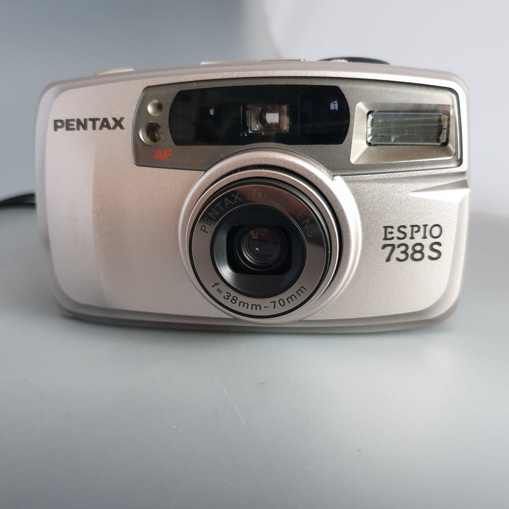 Pentax ESPIO 738S  Silver Compact  Point and shoot