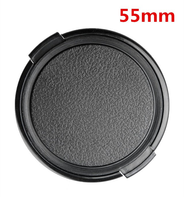 Lens cap: Retro, clip on with centre grips
