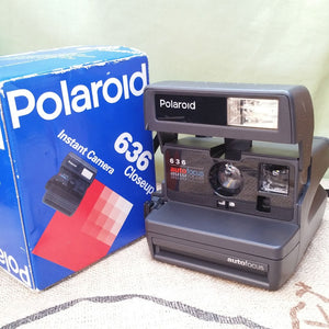 Polaroid 636 CLOSE-UP, 600 Film type, Instant, Polaroid, Vintage camera