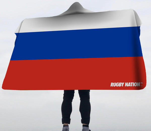Hooded Blanket - Russia Flag