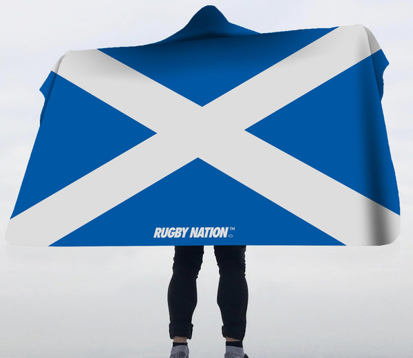 Hooded Blanket - Scotland Flag