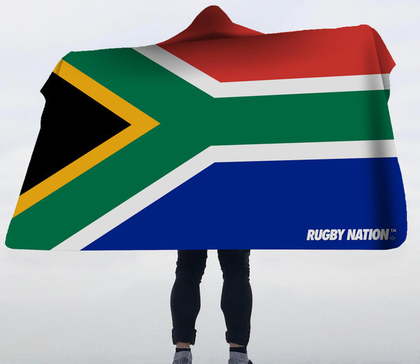 Hooded Blanket - South Africa Flag
