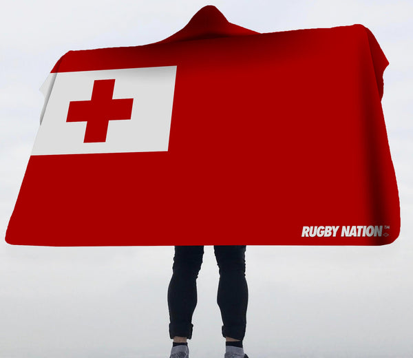 Hooded Blanket - Tonga Flag