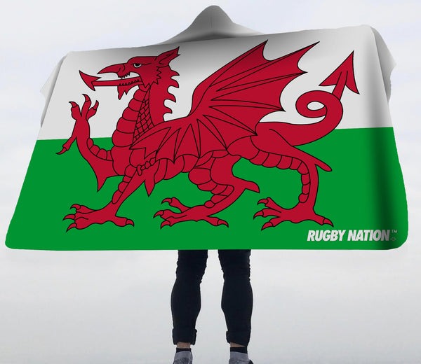Hooded Blanket - Wales Flag