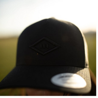 Black Hat - Rugby Ball Logo