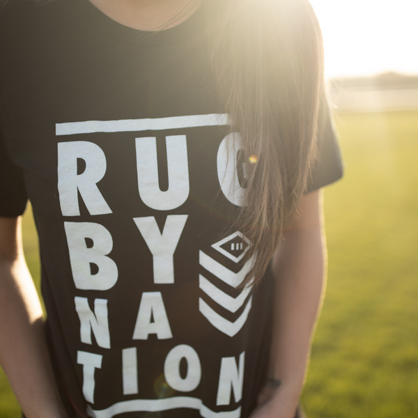 Black Shirt unisex- Rugby Nation Logo