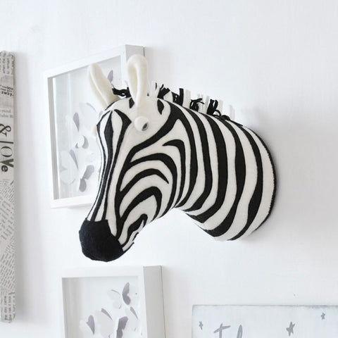 Zebra 3D Wand Decoratie