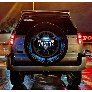 Center License Plate Mount and Led Light (Jeep 5x5 pattern)