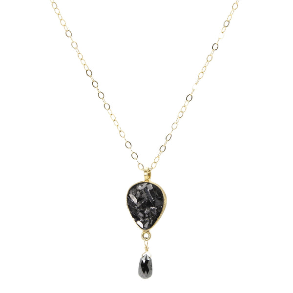 Black Diamond Dangle
