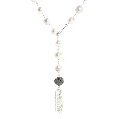 Diamond & Pearl Lariat