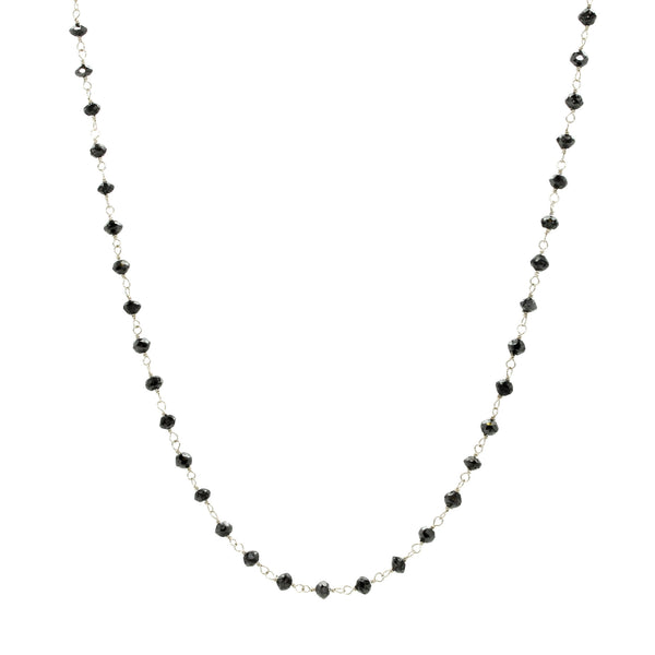 Linked Diamond Roundel Necklace