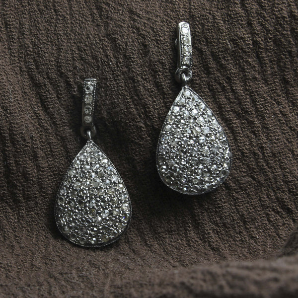 Diamond Teardrop Earrings