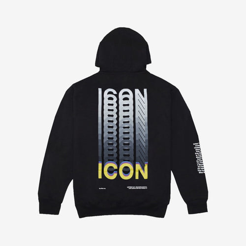 JADEN SMITH - SYRE ICON HOODIE BLACK