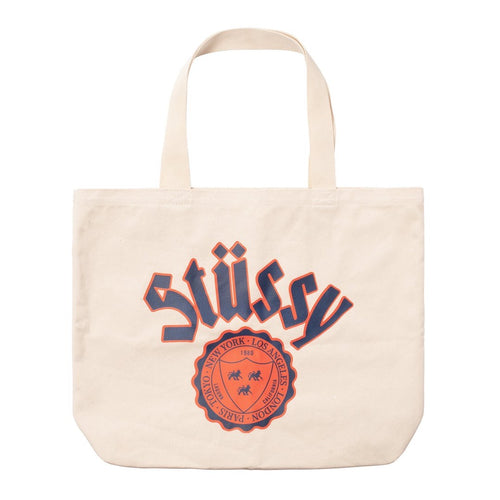 Stussy bag city seal canvas tote