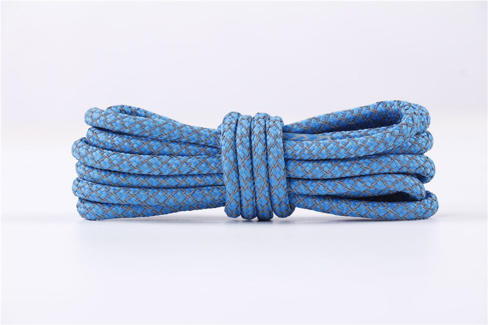 SKY BLUE REFLECTIVE ROPE LACES