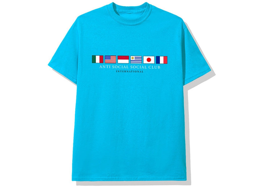 Anti Social Social Club Oceans Tee Blue