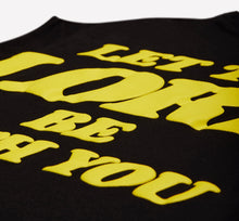 Load image into Gallery viewer, TALENTLESS LET THE LORD BE WITH YOU TEE-black