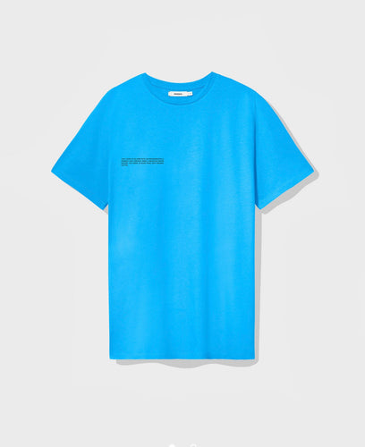 Pangaia Organic Cotton T-Shirt sea blue