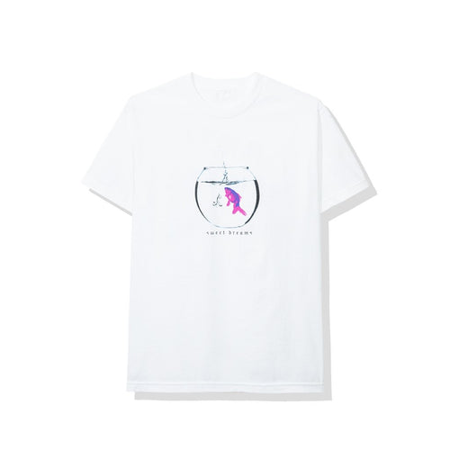 Anti Social Social Club ' Glitter White Tee '