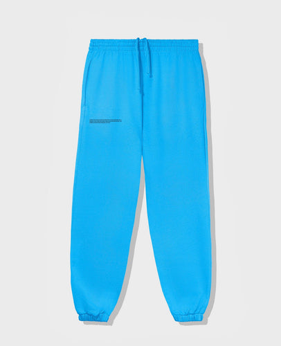 Pangaia Lightweight Cotton Track Pants - sea blue