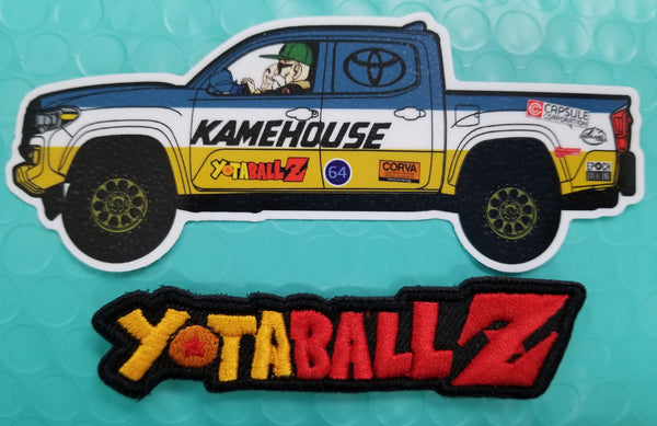 Yota Ball Z Patch + Decal