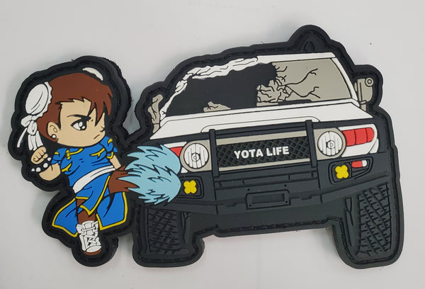 FJ Cruiser Patch Bonus Stage PVC