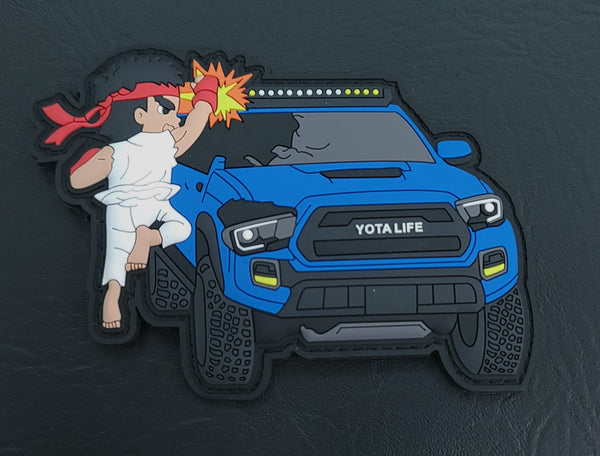 Bonus Stage V2 Tacoma Patch Multicolor